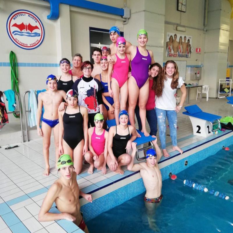 Silvia Rizzi e la Nottoli Nuoto 74 si allenano alla resilienza