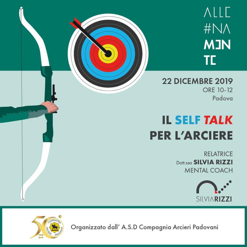 Il self talk dell'arciere Locandina evento 4