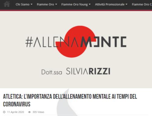 ATLETICA: L'IMPORTANZA DELL'ALLENAMENTO MENTALE AI TEMPI DEL CORONAVIRUS