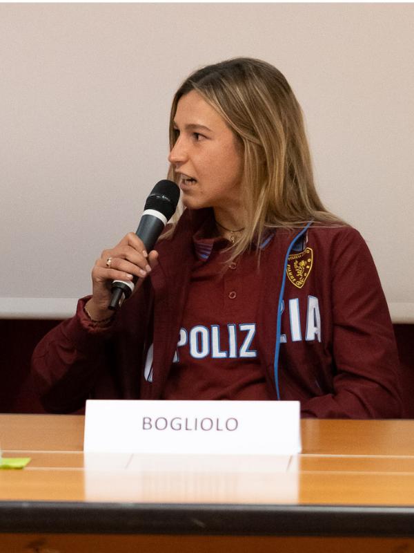 Luminosa Bogliolo - Atleta del Centro Nazionale Fiamme Oro Atletica - Donne resilienti ai tempi del Covid