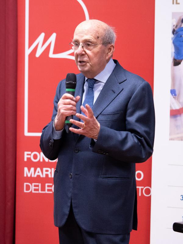 Prof. F. Pagano - Presidente Fondazione Ricerca Biomedica Avanzata