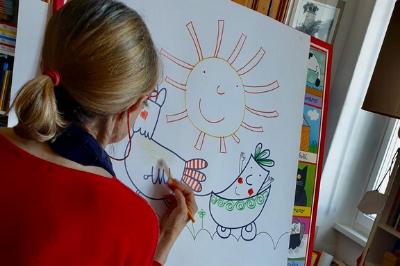 Nicoletta Costa disegna
