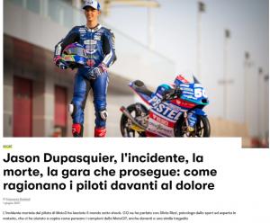 Intervista per GQItalia su Dupasquier