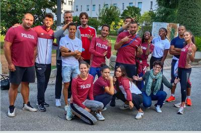 Atleti prima squadra Fiamme Oro Padova