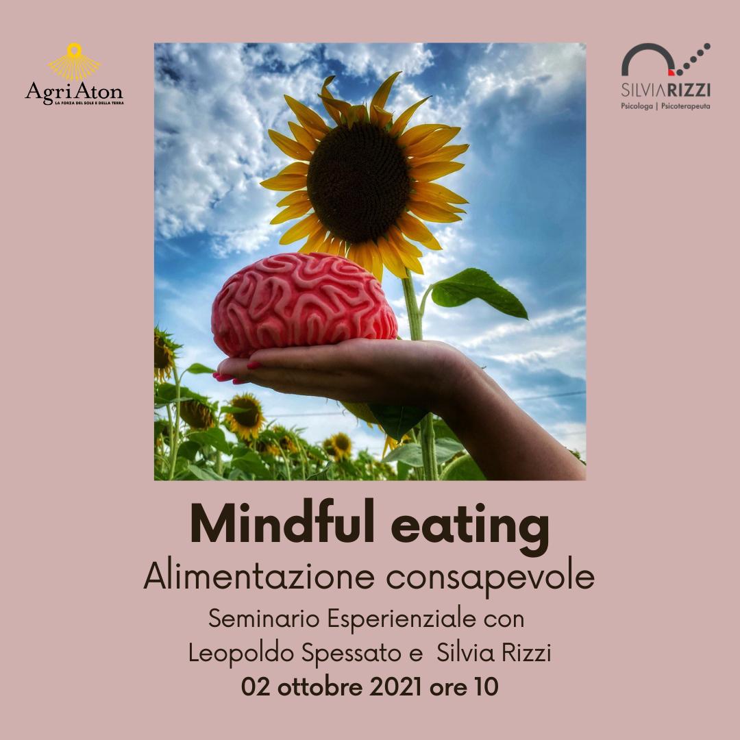 Locandina Mindful eating ad AgriAton